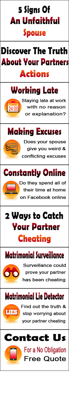 signs of cheating spouse